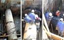 【宮城県S市】雨水ポンプ場建設工事にて分割式耐振性継手取付け
